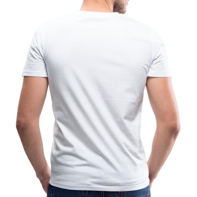 "Vorschau: Ma sogt ned afoch ""I hob kan Hunga"" zua Oma - Männer Bio-T-Shirt mit V-Ausschnitt von Stanley & Stel"