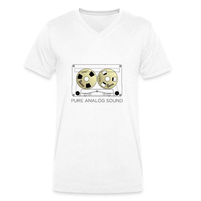 Reel gold cassette white