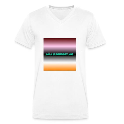 IM A G RESPECT ME MERCH - Men's Organic V-Neck T-Shirt by Stanley & Stella