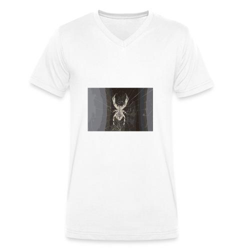 attacking spider - Männer Bio-T-Shirt mit V-Ausschnitt von Stanley & Stella