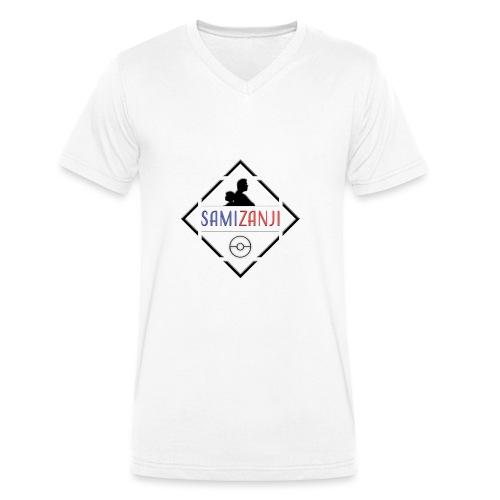 SamiZanji svart logga - Ekologisk T-shirt med V-ringning herr från Stanley & Stella