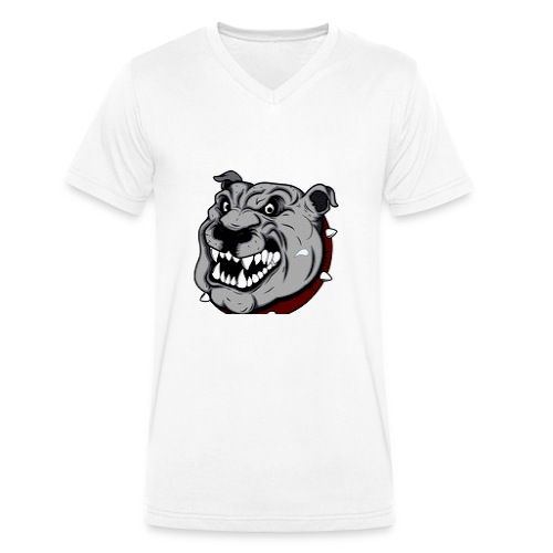 Funny Pitbull - T-shirt bio col V Stanley & Stella Homme