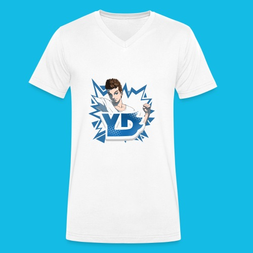 Avatar + Logo - Männer Bio-T-Shirt mit V-Ausschnitt von Stanley & Stella