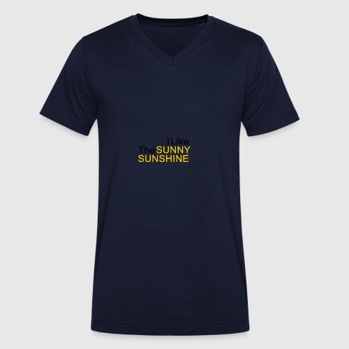 Sunny Sunshine... - Mannen bio T-shirt met V-hals van Stanley & Stella