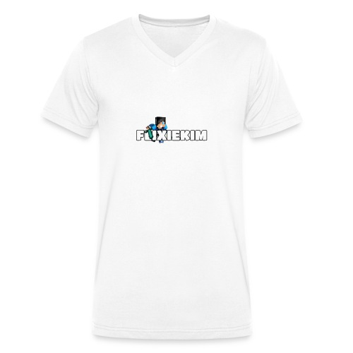 Flixiekim - Ekologisk T-shirt med V-ringning herr från Stanley & Stella