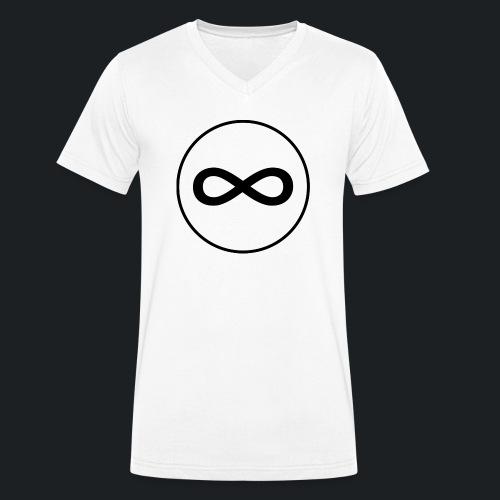 Infinity - Männer Bio-T-Shirt mit V-Ausschnitt von Stanley & Stella