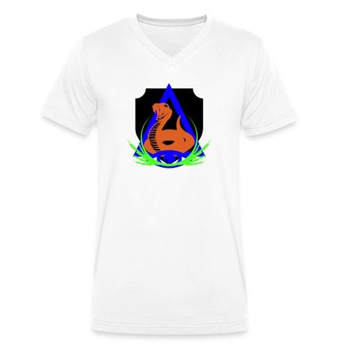 rrib LGE - Men's Organic V-Neck T-Shirt by Stanley & Stella