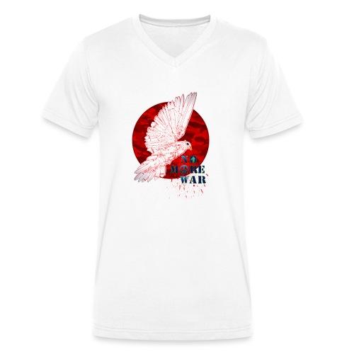 No More War Now - Männer Bio-T-Shirt mit V-Ausschnitt von Stanley & Stella
