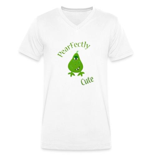 pearfectly cute peer - Mannen bio T-shirt met V-hals van Stanley & Stella