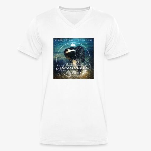 anton_summersplashii - Männer Bio-T-Shirt mit V-Ausschnitt von Stanley & Stella