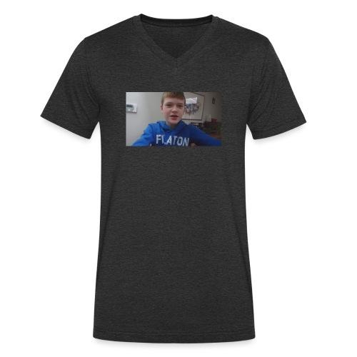 roel t-shirt - Mannen bio T-shirt met V-hals van Stanley & Stella