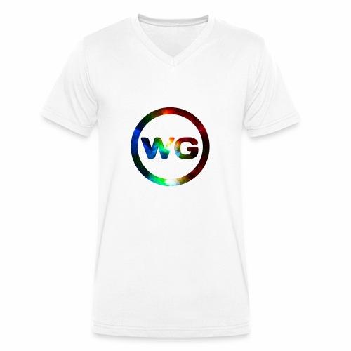 wout games - Mannen bio T-shirt met V-hals van Stanley & Stella