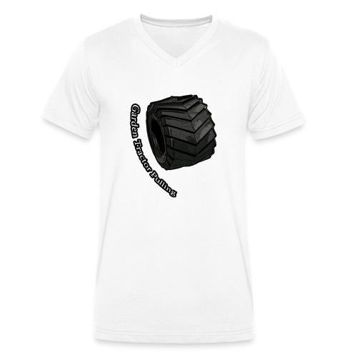 Børne Tractor pulling - Økologisk Stanley & Stella T-shirt med V-udskæring til herrer
