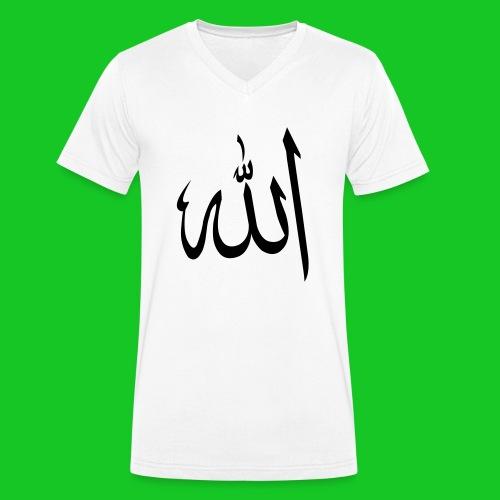 Allah - Mannen bio T-shirt met V-hals van Stanley & Stella
