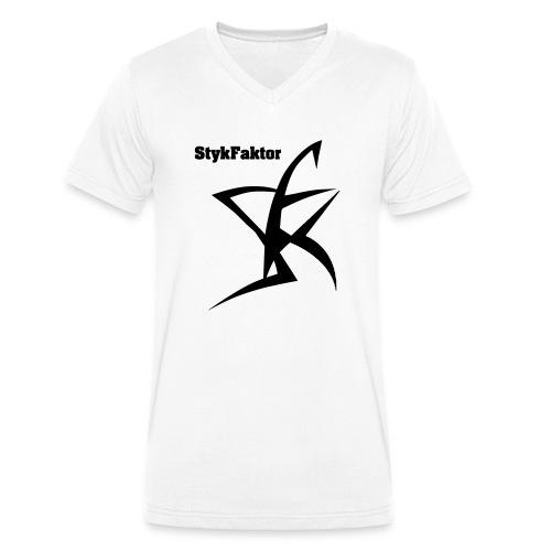 SykFaktor : Muscle Shirt - Männer Bio-T-Shirt mit V-Ausschnitt von Stanley & Stella