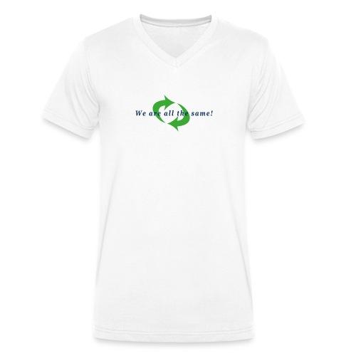 Wir sind alle gleich - Männer Bio-T-Shirt mit V-Ausschnitt von Stanley & Stella