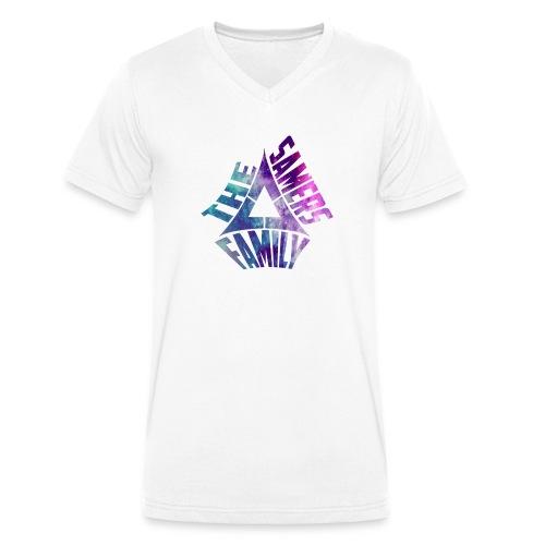 THESAMERSFAMILY-png - Camiseta ecológica hombre con cuello de pico de Stanley & Stella