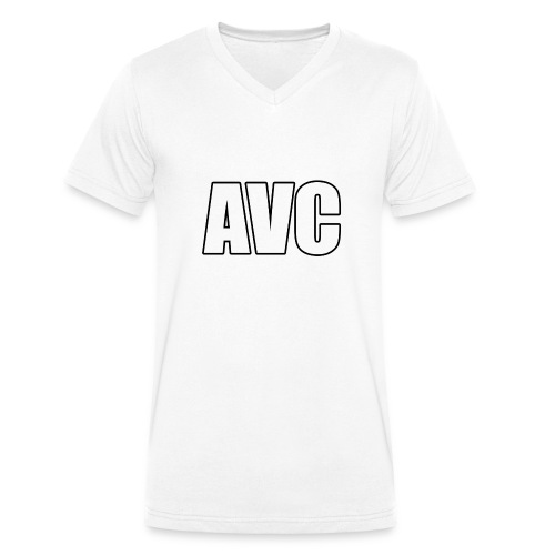 mer png - Mannen bio T-shirt met V-hals van Stanley & Stella