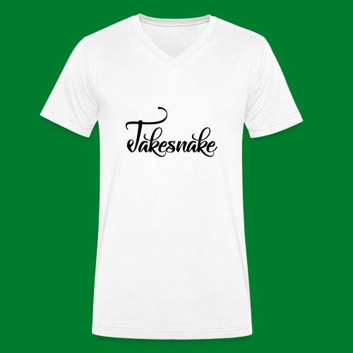Untitled-1 - Men's Organic V-Neck T-Shirt by Stanley & Stella