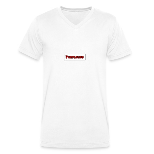 PURPLEYES - T-shirt bio col V Stanley & Stella Homme