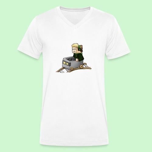 Tantriss LP - Minecart - Männer Bio-T-Shirt mit V-Ausschnitt von Stanley & Stella