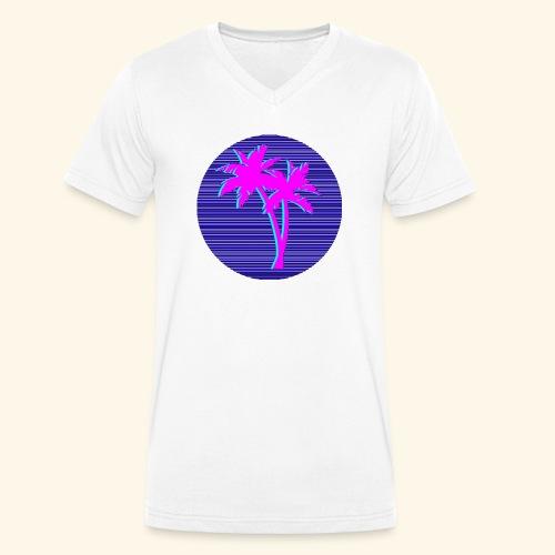 Florida palmtree - T-shirt bio col V Stanley & Stella Homme