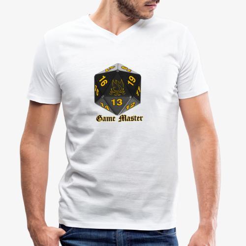 Game master yellow - T-shirt bio col V Stanley & Stella Homme