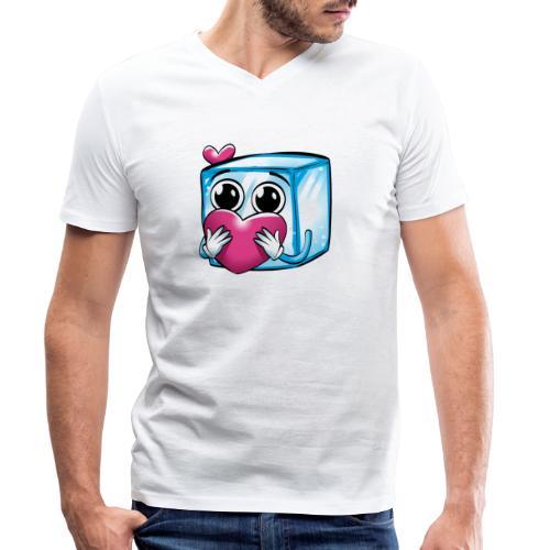 icelapLove - Männer Bio-T-Shirt mit V-Ausschnitt von Stanley & Stella