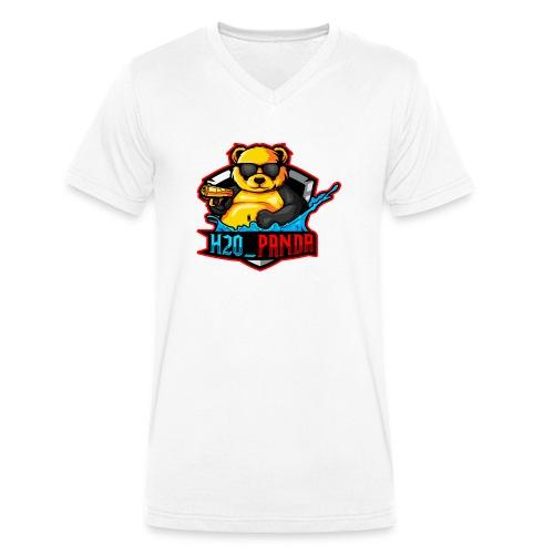 Pandas Loga - Ekologisk T-shirt med V-ringning herr från Stanley & Stella