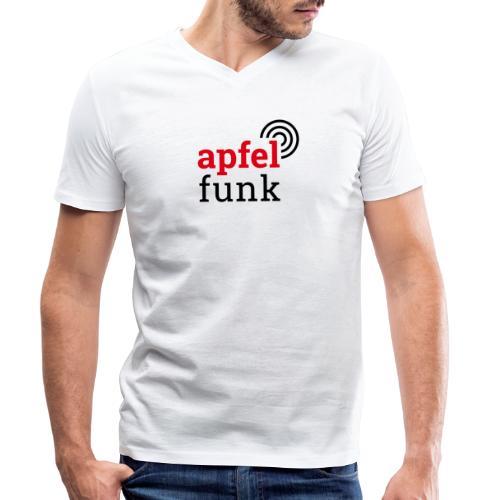 Apfelfunk Edition - Männer Bio-T-Shirt mit V-Ausschnitt von Stanley & Stella