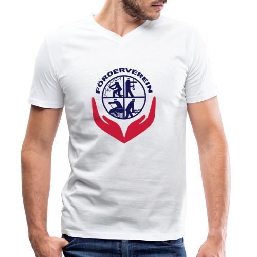 Symbol_FVFFG_3Color_NEU - Männer Bio-T-Shirt mit V-Ausschnitt von Stanley & Stella
