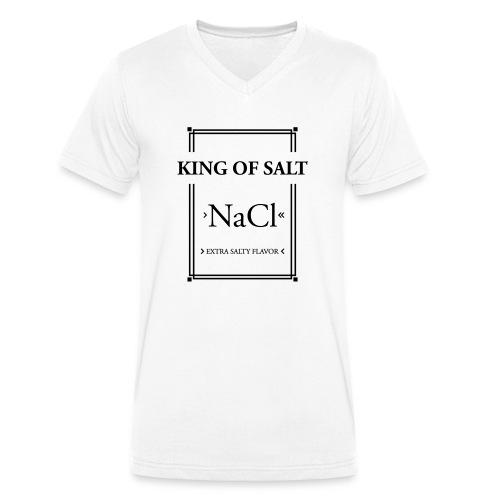 King of Salt - Männer Bio-T-Shirt mit V-Ausschnitt von Stanley & Stella