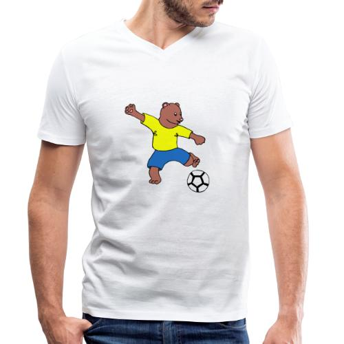 Bill le footballeur - T-shirt bio col V Stanley & Stella Homme