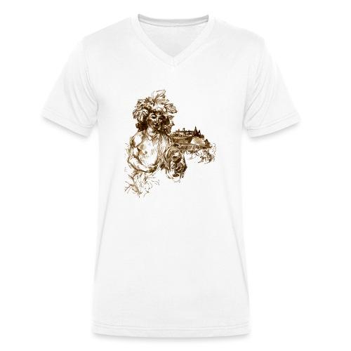 Bacchus 010 - Männer Bio-T-Shirt mit V-Ausschnitt von Stanley & Stella