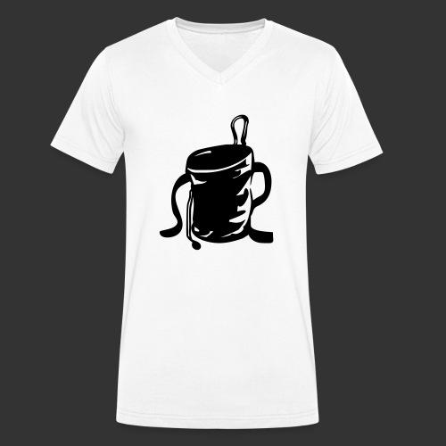 Chalkbag - Männer Bio-T-Shirt mit V-Ausschnitt von Stanley & Stella