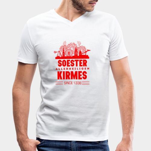 GHB Westfalen Soester Allerheiligenkirmes 81120172 - Männer Bio-T-Shirt mit V-Ausschnitt von Stanley & Stella