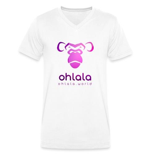 Ohlala PURPLE - T-shirt bio col V Stanley & Stella Homme