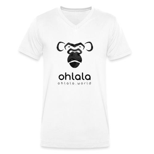 Ohlala Retro BLACK - T-shirt bio col V Stanley & Stella Homme