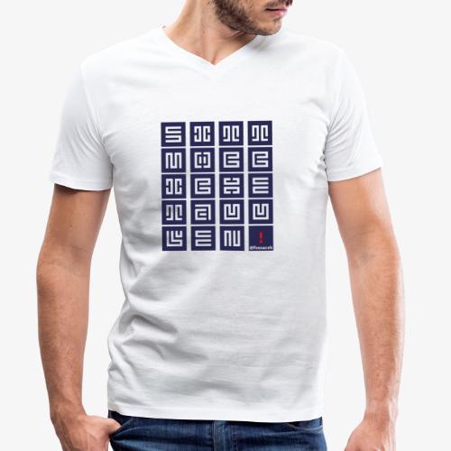 SittMocciche - T-shirt ecologica da uomo con scollo a V di Stanley & Stella