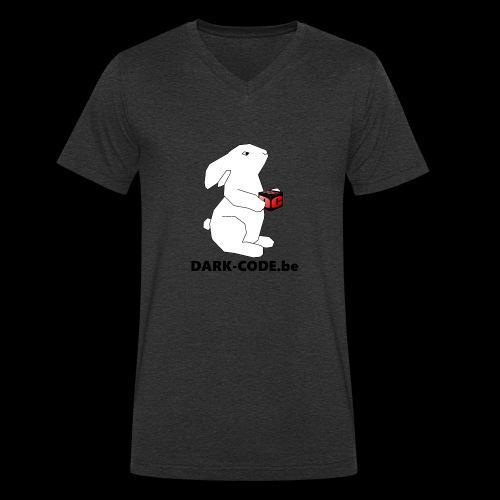 whiterabbit - T-shirt bio col V Stanley & Stella Homme