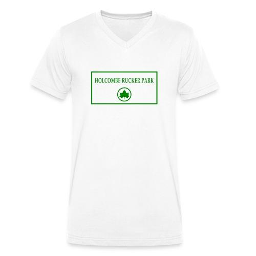 RuckerPark - T-shirt ecologica da uomo con scollo a V di Stanley & Stella