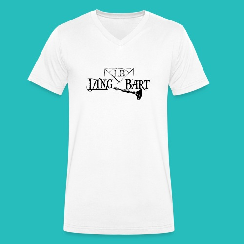 Logo-BN - T-shirt ecologica da uomo con scollo a V di Stanley & Stella