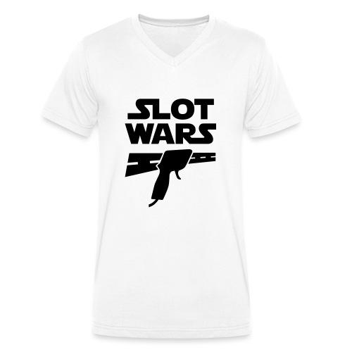 Slot Wars - Männer Bio-T-Shirt mit V-Ausschnitt von Stanley & Stella