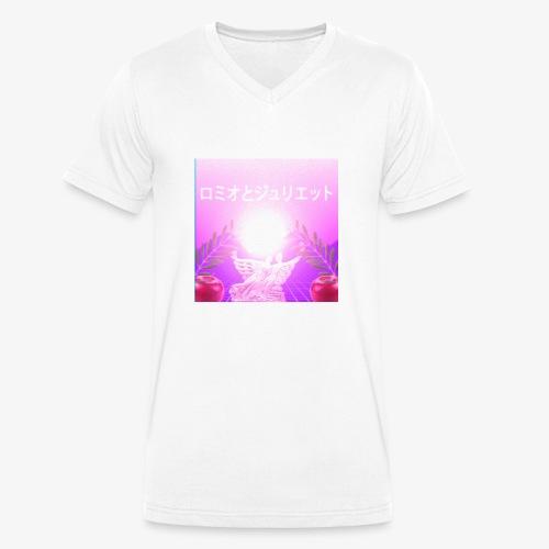 Romeo i Julia - Ekologiczna koszulka męska z dekoltem w serek Stanley & Stella