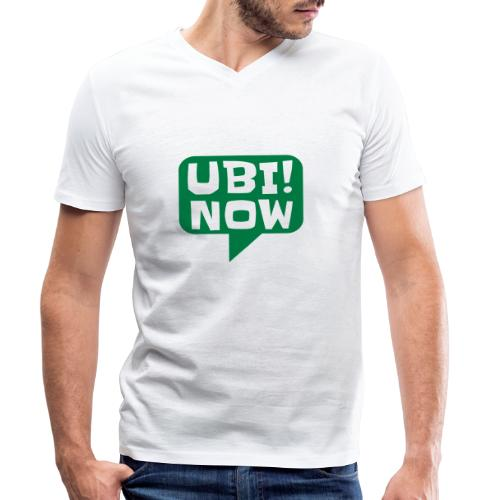 UBI! NOW - The movement - Men's Organic V-Neck T-Shirt by Stanley & Stella