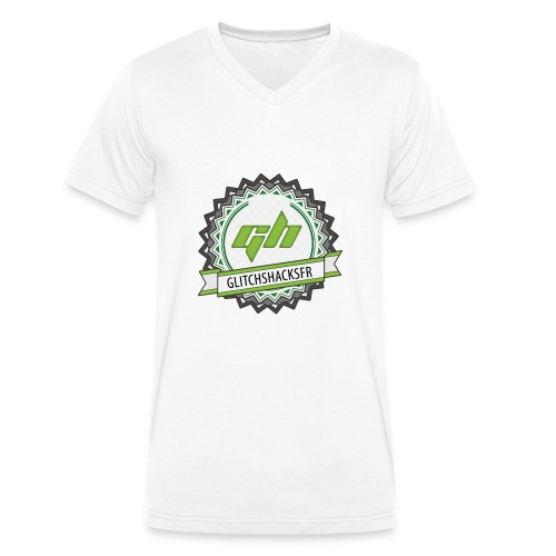 GlitchsHacksFR HD - T-shirt bio col V Stanley & Stella Homme