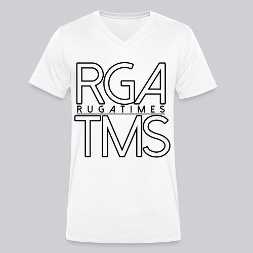 T-Shirt im RGA TMS Design - RugaTimes - Männer Bio-T-Shirt mit V-Ausschnitt von Stanley & Stella