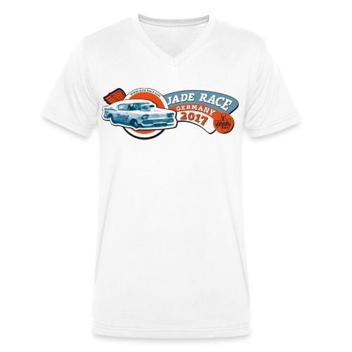 Jade Race 2017 - Männer Bio-T-Shirt mit V-Ausschnitt von Stanley & Stella