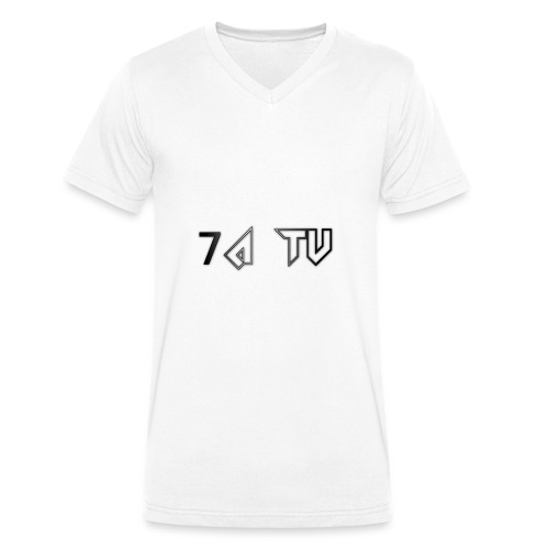7A TV - Men's Organic V-Neck T-Shirt by Stanley & Stella