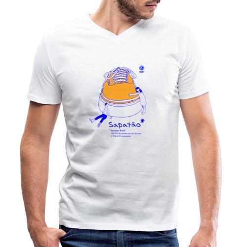 Sapatão - Camiseta ecológica hombre con cuello de pico de Stanley & Stella